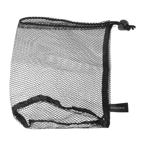 Golf Nylon Drawstring Mesh Net Bag Pouch for Golf Balls Table Tennis Balls Carrying Holder Storage Bag for 15 Balls / 25 Balls