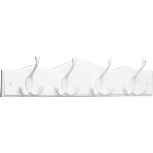 Brainerd 4 Tri-Hook Scalloped Top Rail, Available in Multiple Colors