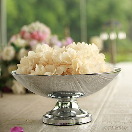 BalsaCircle 15-Inch tall Compote Bowl Centerpiece Pedestal Table Vase - Wedding Party Decorations Table Home](Tall Vases For Wedding Centerpieces Cheap)