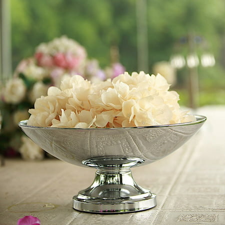 BalsaCircle 15-Inch tall Compote Bowl Centerpiece Pedestal Table Vase - Wedding Party Decorations Table Home