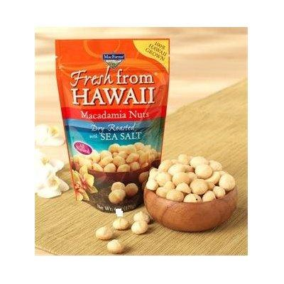 macfarms dry roasted macadamia nuts with sea salt, fresh from hawaii 24 oz