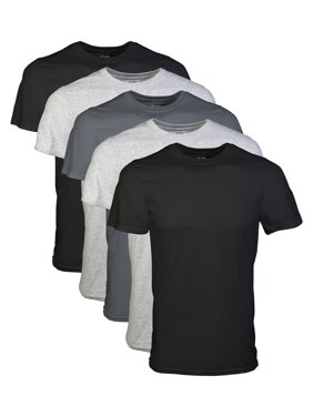 426e155967e2 Product Image Mens Short Sleeve Crew Assorted Color T-Shirt, 5-Pack