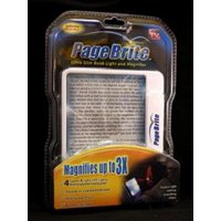 Spark Innovators Page Brite  Book Light and Magnifier, 1 ea