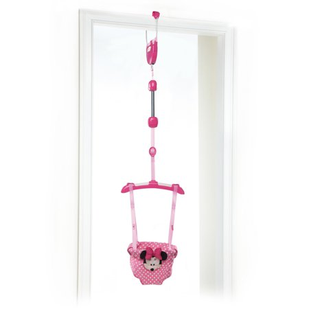 Disney Baby Minnie Mouse Door Jumper from Bright Starts - Party City Baby Minnie