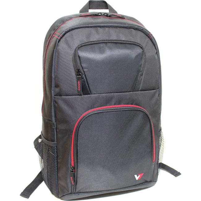 "V7 Vantage Laptop Backpack 16.1"" Stylish Ergonomic Backpack"