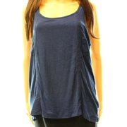 PJ Salvage NEW Blue Women's Medium M Embroidered Scoop Neck Tank Cami Top