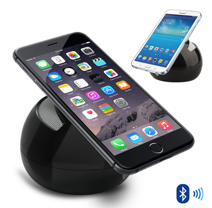 Portable Stand And Bluetooth Speaker For Your Smartphone