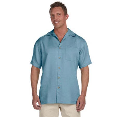 - Harriton Men's Bahama Cord Camp Shirt