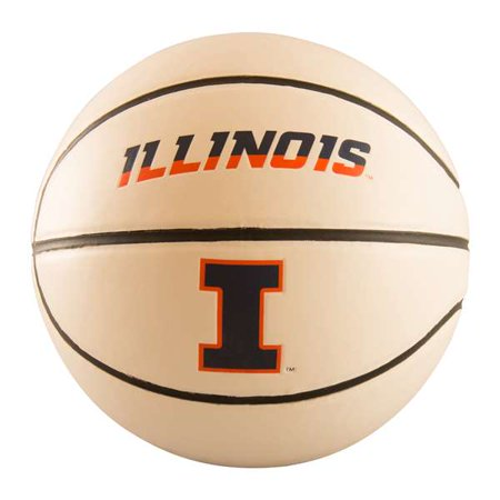 Autographed Basketball Photos - Illinois Full-Size Autograph Basketball