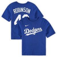 Jackie Robinson Los Angeles Dodgers Nike Preschool Player Name & Number T-Shirt - Royal
