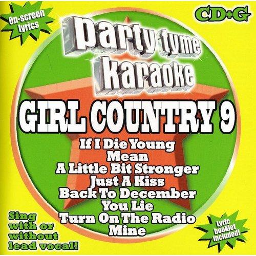 Party Tyme Karaoke - Girl Country 9