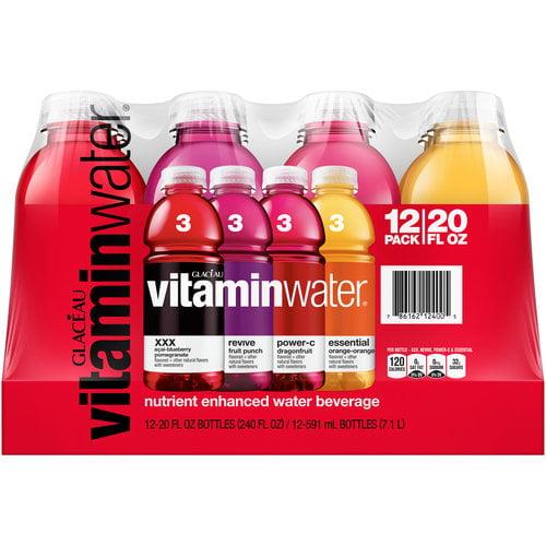 Glaceau-Vitaminwater:  Nutrient Enhanced Water Beverage, 240 Fl Oz