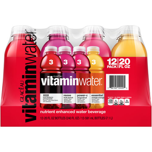 Glaceau-Vitaminwater:  Nutrient Enhanced Water Beverage, 240 Fl Oz