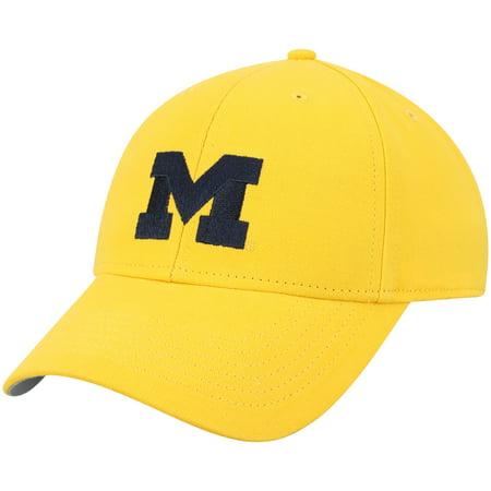 Wolverine Autograph - Men's Maize Michigan Wolverines Team Basic Adjustable Hat - OSFA