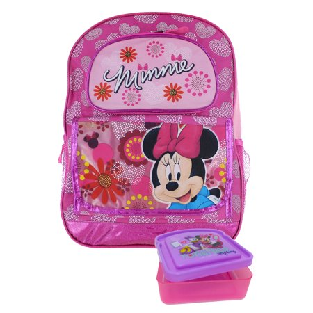 Minnie Foot (Minnie Mouse Floral Pink 16