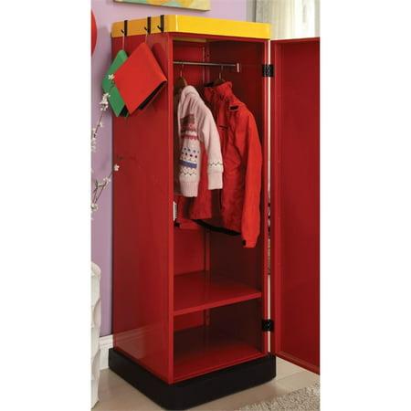 Furniture Of America Mars Contemporary, Childrens Wardrobe Armoire
