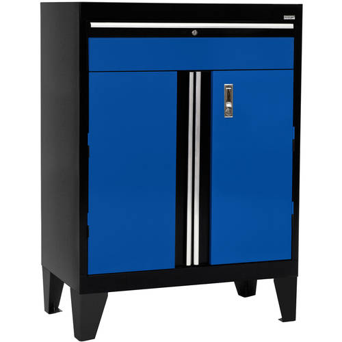"30""W x 18""D x 43""H Modular Storage System Base Cabinet with Drawer by Sandusky"