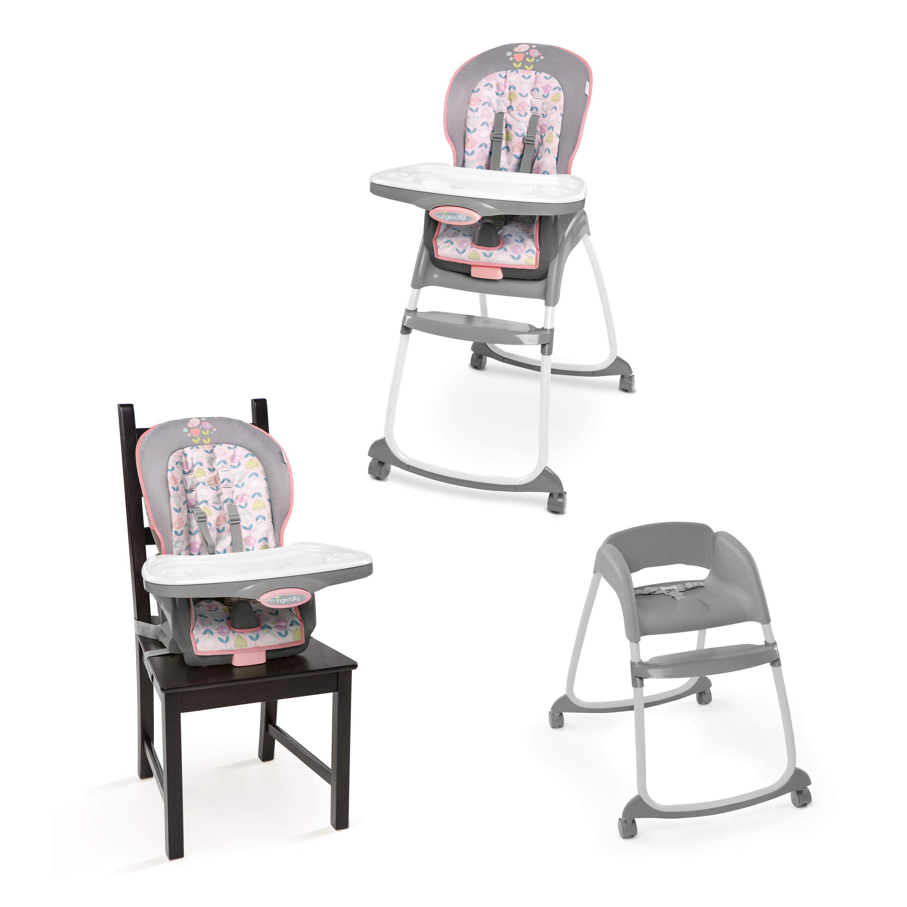 baby in dp ingenuity trio slate com amazon smartclean chair high