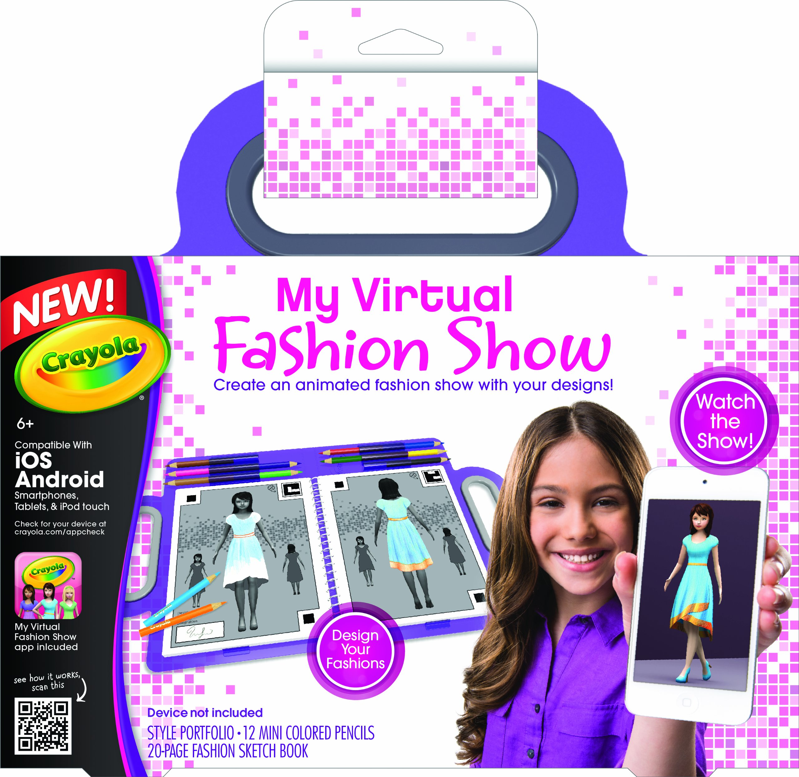 Crayola My Virtual Fashion Show Walmart Com Walmart Com