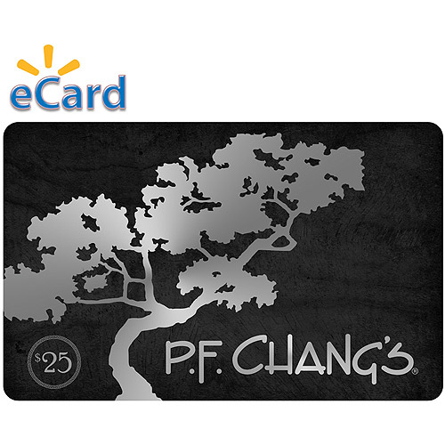 PF Changs $25 Card (Email Delivery)