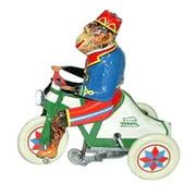 Alexander Taron Collectible Decorative Tin Toy Monkey on Tricycle