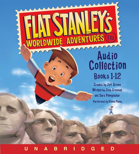 Flat Stanley's Worldwide Adventures Audio Collection : Books 1-12