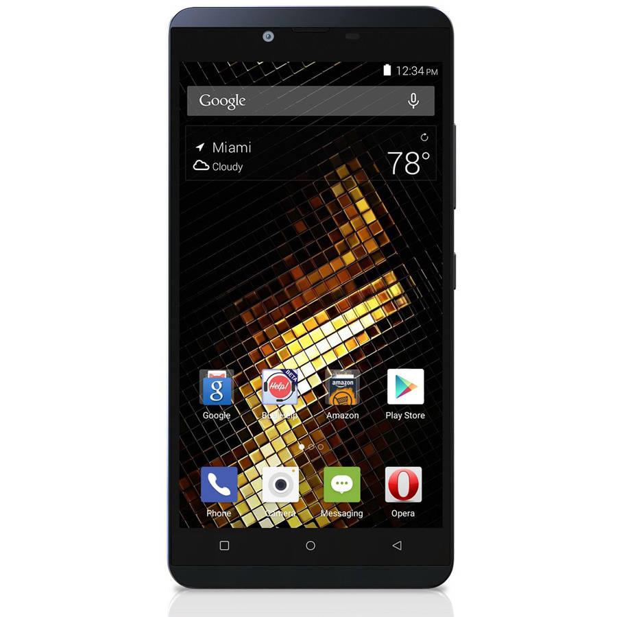 BLU VIVO XL V0030UU GSM Smartphone (Unlocked), Blue