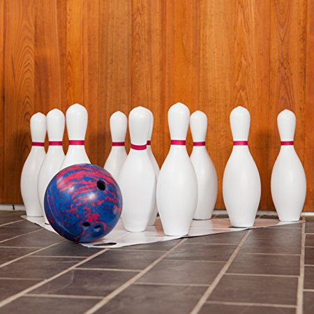 Bestselling Plastic Bowling Pin Set to Use Indoors or Outdoors - Pack of 10 - Bowling Pin Wood