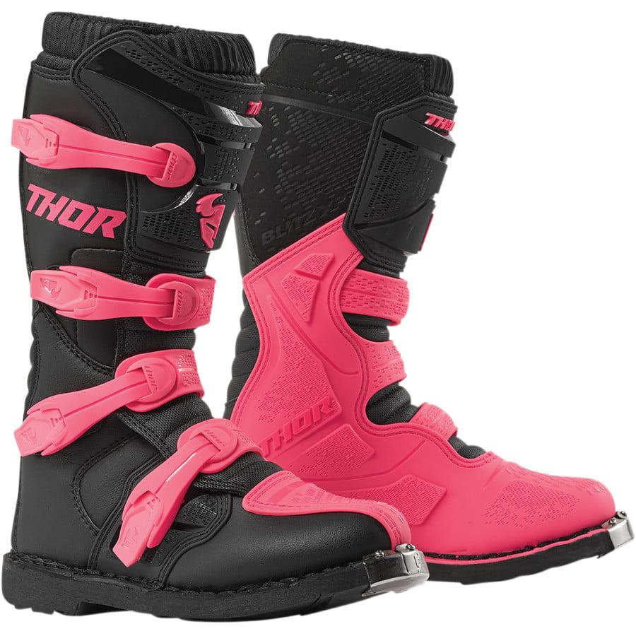 Thor Blitz XP Mens MX Offroad Boots White//Black