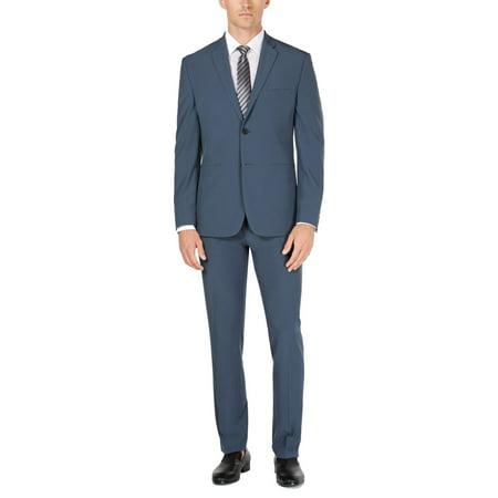 Mens Suit Set Two-Button Premium Tech 2 Piece 36