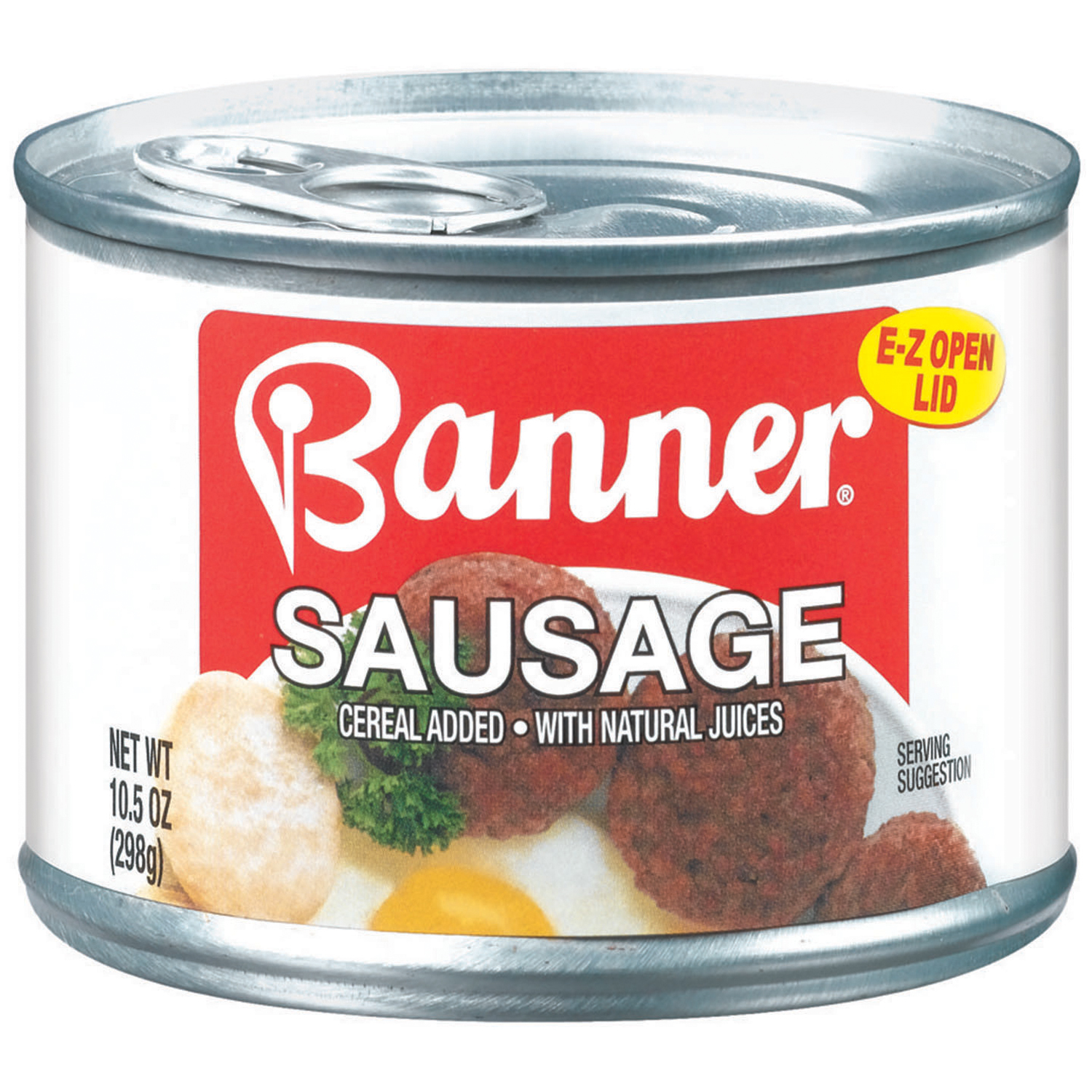 Banner W Natural Juices Sausage 10.5 Oz Can by Pinnacle Foods Group, Llc