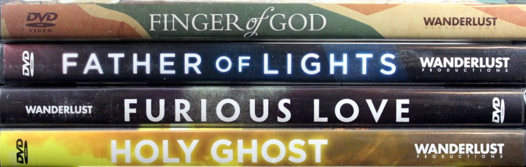 Father of Lights, Finger of God, Furious Love, Holy Ghost 4 Set DVD by