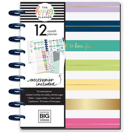 The Happy Planner - Classic Undated 12 Month Planner Have Fun