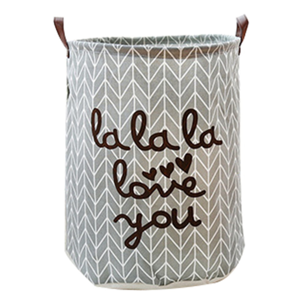 Large Laundry Hamper Baskets Dirty Clothes Organizer Bag Folding Storage Bucket