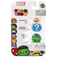 Marvel Tsum Tsum Series 2 Hobgoblin & Hulk Mini Figures, 3 Pack