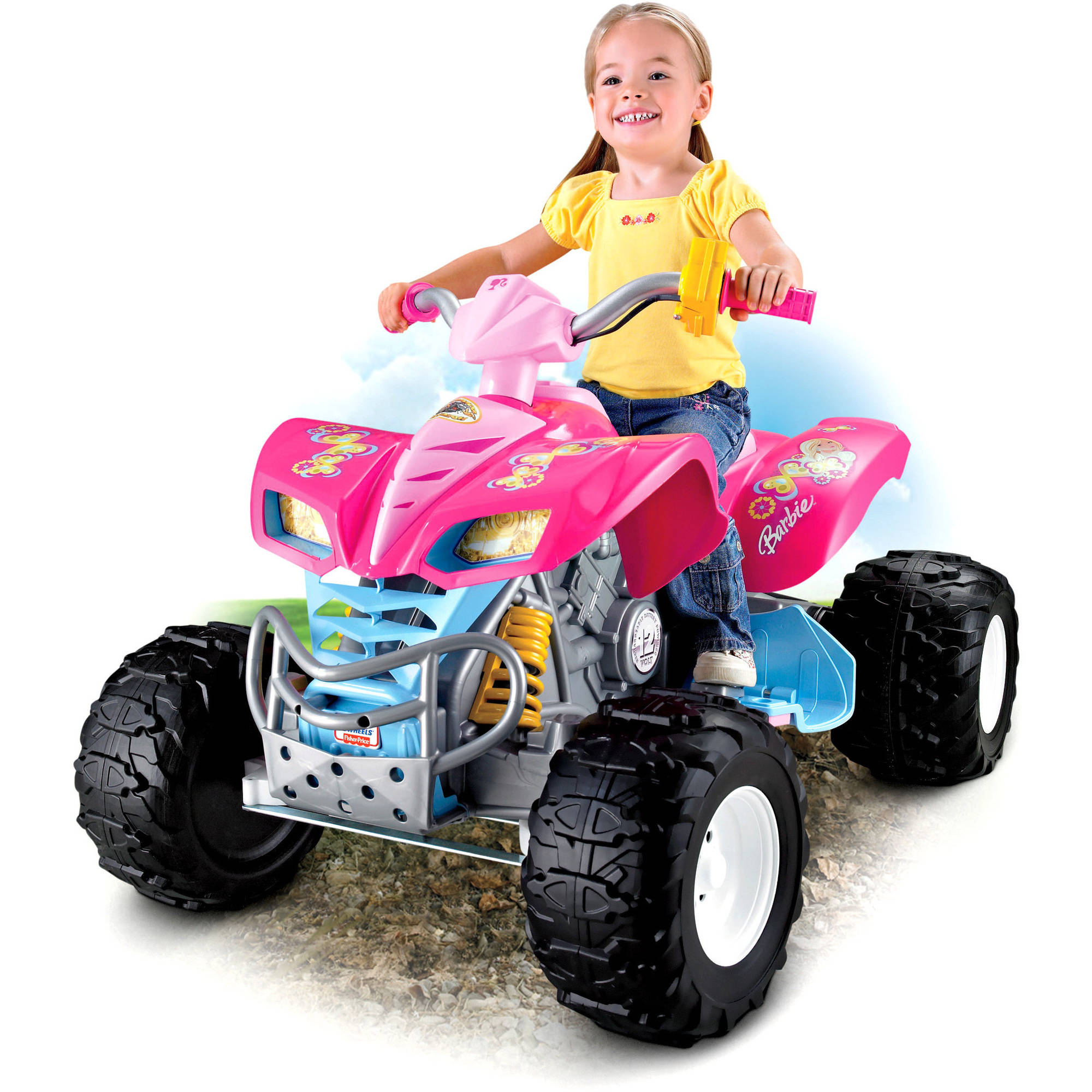 Power Wheels Barbie KFX