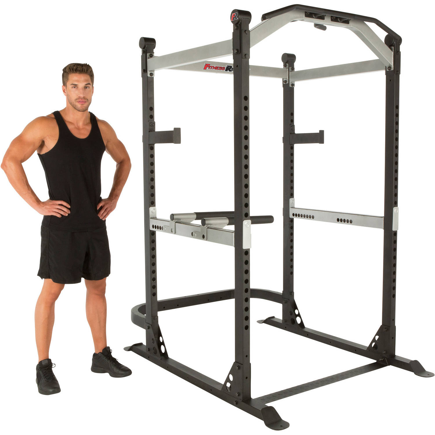 FITNESS REALITY X-Class Light Commercial High-Capacity Olympic Power Cage (Box 1 of 2)
