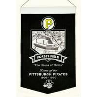 "Pittsburgh Pirates 15"" x 24"" Forbes Field Stadium Banner"
