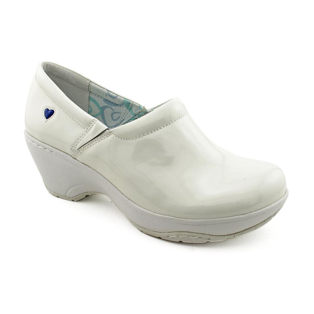 Nurse Mates Bryar Women's Clog Shoes - White