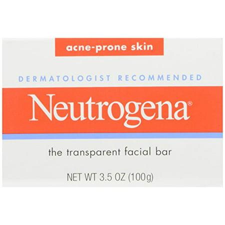 Neutrogena Acne Prone Skin Formula Facial Bar 3.50oz