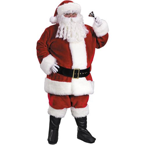 Santa Premium Plush Adult Suit