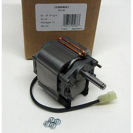 S99080667 genuine broan range hood vent fan motor 99080532 for Range hood fan motor