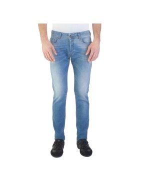 0f070c38 Product Image Diesel Men's Slim-Skinny Fit Sleenker 0852V Jean Pants Light  Blue