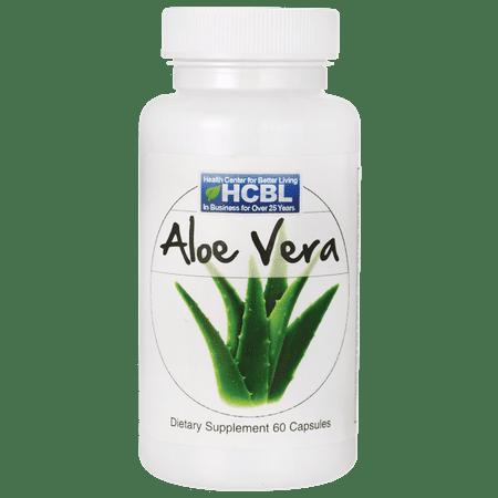 HCBL Aloe Vera 450 mg 60 Caps (Aloe Vera Natures Way)