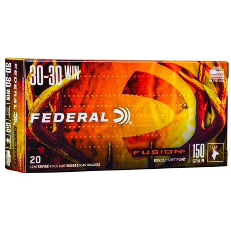 Federal Fusion .30-30 20 Rounds