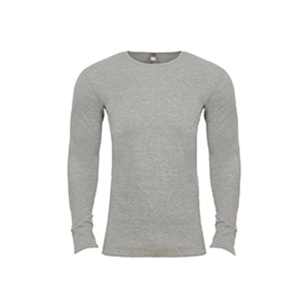 N8201 Nl 8201 Adult Ls Thermal Heather Gray M - image 1 of 1
