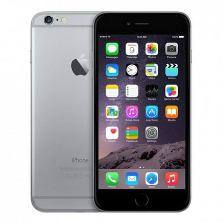 Refurbished iPhone 6 Space Gray GSM Unlocked 64GB (MG4F2LL/A) (2014)
