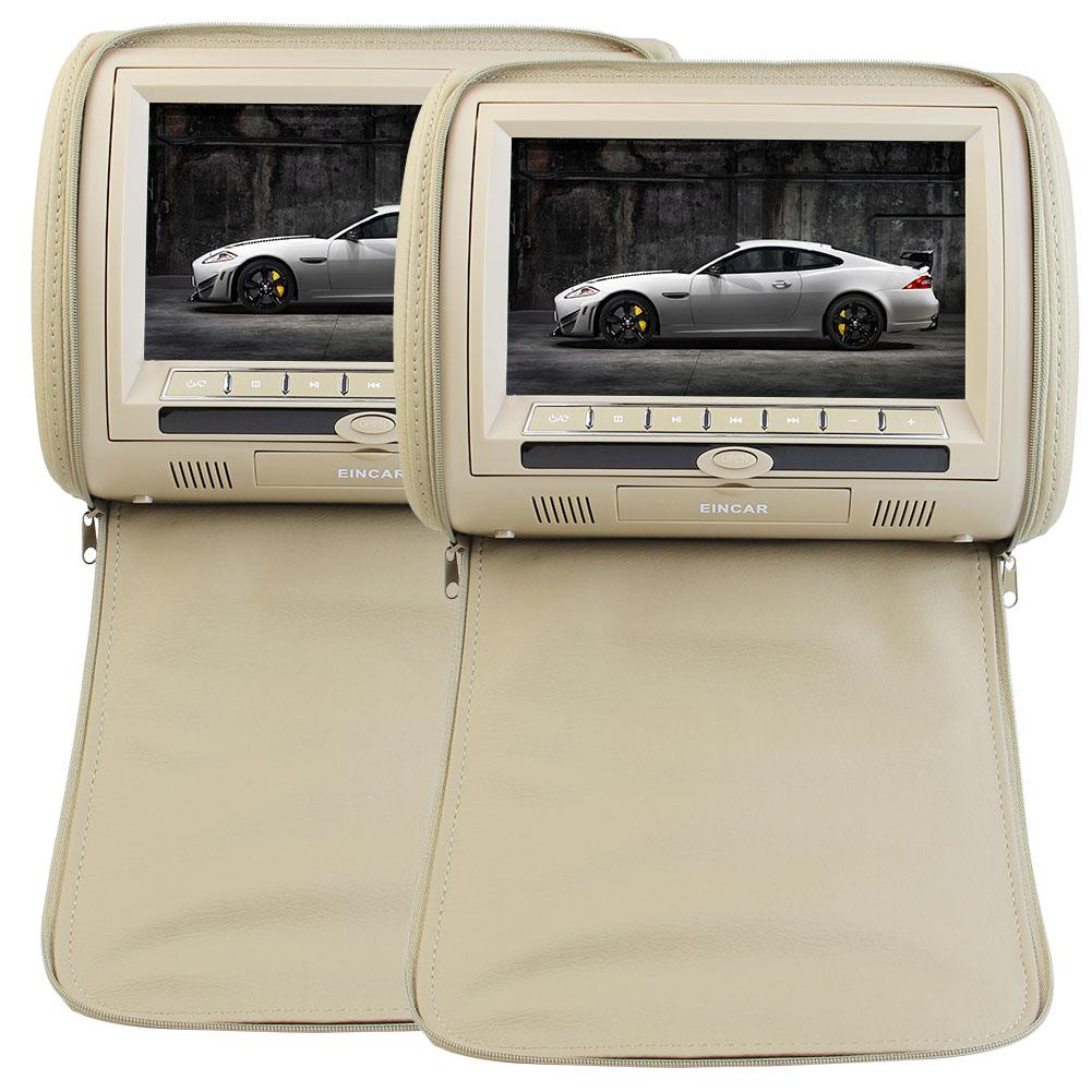 Eincar New Sales Car Headrest Twin DVD Player 9 Inch HD D...