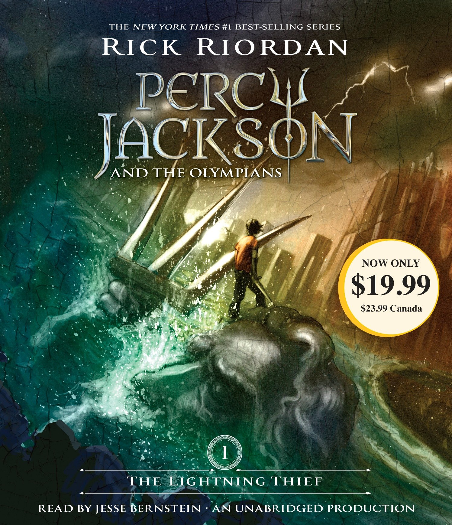 The Lightning Thief : Percy Jackson and the Olympians: Book 1