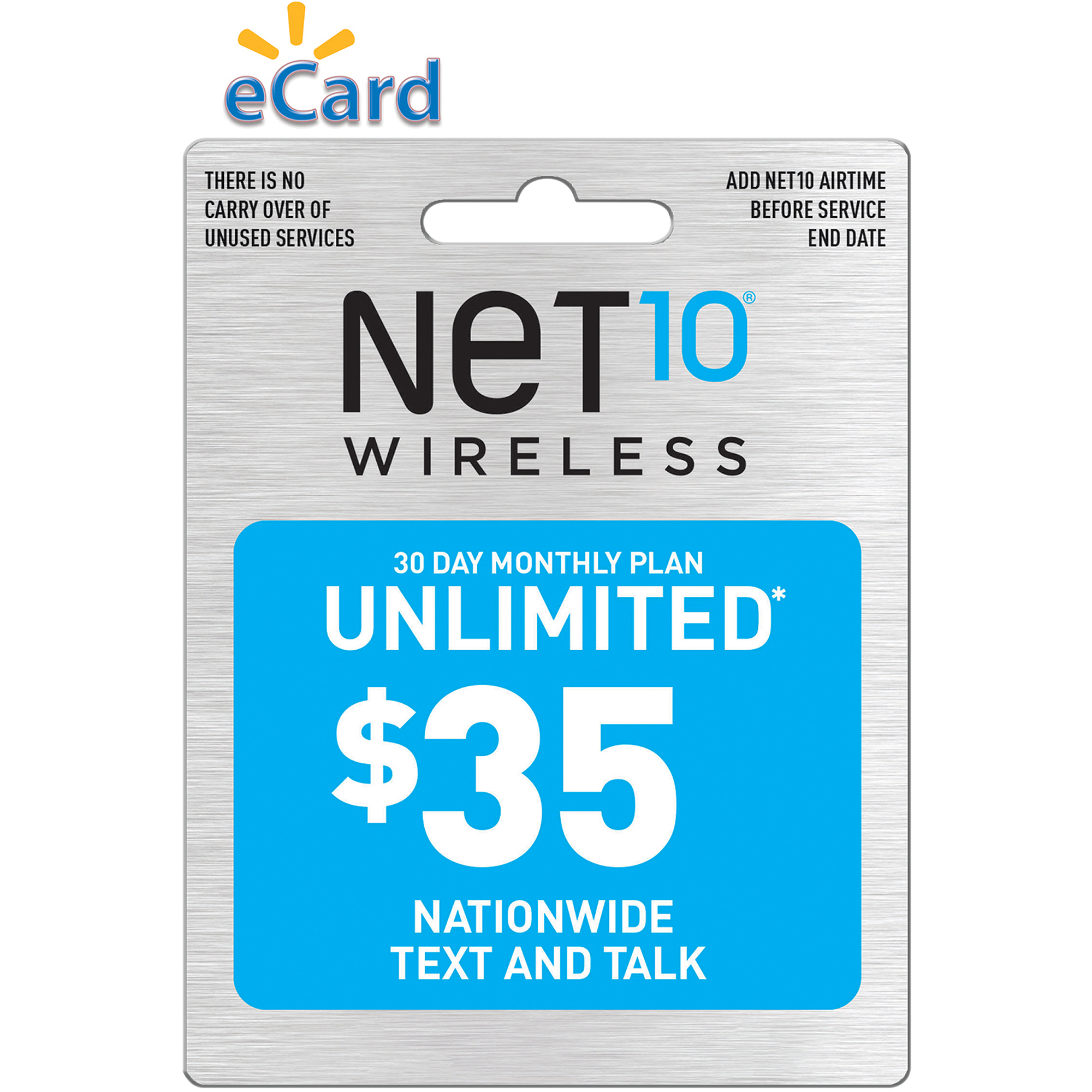 NET10 Direct Load $35 (Email Delivery)